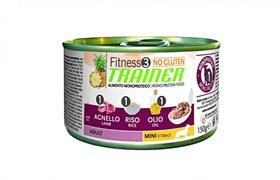 Trainer - Консервы для взрослых собак мелких пород (с ягненком и рисом) Fitness No Gluten Mini Adult Lamb and Rice