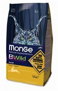 Monge - Сухой корм для взрослых кошек с мясом зайца BWild Cat Hare