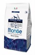 Monge - Сухой корм для пожилых собак средних пород Dog Medium Senior