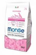 Monge - Сухой корм для собак всех пород (свинина с рисом и картофелем) Dog Speciality