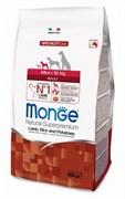 Monge - Сухой корм для взрослых собак мелких пород (ягнёнок с рисом и картофелем) Dog Speciality Mini
