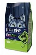 Monge - Сухой корм для взрослых собак всех пород с мясом дикого кабана Bwild Dog Boar