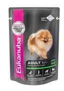 Eukanuba - паучи для взрослых собак (с говядиной в соусе) Adult Dog with Beef