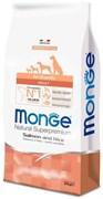 Monge - Сухой корм для собак всех пород (лосось с рисом) Dog Speciality Line