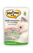 """Мнямс - Паучи для кошек """"Бефстроганов по-тасмански"""" (с мясом страуса)"""