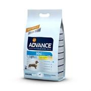 Advance - Сухой корм для собак малых пород Контроль веса (с курицей и рисом) Mini Light