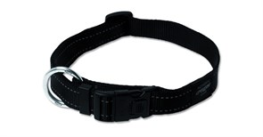 Rogz - Ошейник, черный (размер S (20-31 см), ширина 1,1 см) UTILITY SIDE RELEASE COLLAR