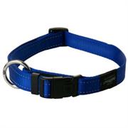 Rogz - Ошейник, синий (размер S (20-31 см), ширина 1,1 см) UTILITY SIDE RELEASE COLLAR