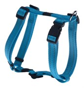 Rogz - Шлейка, голубой (размер S (23-37 см), ширина 1,1 см) UTILITY H-HARNESS