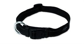 Rogz - Ошейник, черный (размер L (34-56 см), ширина 2 см) UTILITY SIDE RELEASE COLLAR