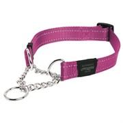Rogz - Полуудавка строгая, розовый (размер L (40-56 см), ширина 2 см) UTILITY OBEDIENCE HALF CHECK COLLAR