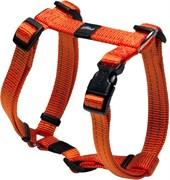 Rogz - Шлейка, оранжевый (размер M (32-52 см), ширина 1,6 см) UTILITY H-HARNESS