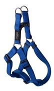 Rogz - Шлейка разъемная, синий (размер M (42-61 см), ширина 1,6 см) UTILITY STEP IN HARNESS