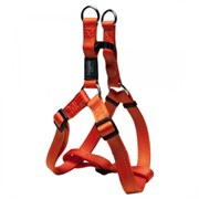 Rogz - Шлейка разъемная, оранжевый (размер M (42-61 см), ширина 1,6 см) UTILITY STEP IN HARNESS