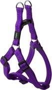 Rogz - Шлейка разъемная, фиолетовый (размер M (42-61 см), ширина 1,6 см) UTILITY STEP IN HARNESS