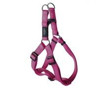 Rogz - Шлейка разъемная, розовый (размер M (42-61 см), ширина 1,6 см) UTILITY STEP IN HARNESS