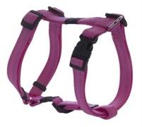 Rogz - Шлейка, розовый (размер L (45-75 см), ширина 2 см) UTILITY H-HARNESS