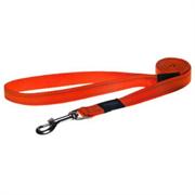 Rogz - Поводок, оранжевый (размер XL - ширина 2,5 см, длина 1,2 м) UTILITY FIXED LEAD