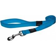 Rogz - Поводок, голубой (размер XL - ширина 2,5 см, длина 1,2 м) UTILITY FIXED LEAD