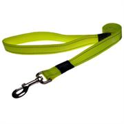 Rogz - Поводок, желтый (размер XL - ширина 2,5 см, длина 1,2 м) UTILITY FIXED LEAD