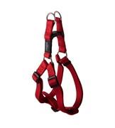 Rogz - Шлейка разъемная, красный (размер XL (67-103 см), ширина 2,5 см) UTILITY STEP IN HARNESS