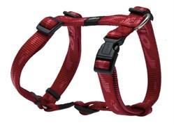 Rogz - Шлейка, красный (размер M (32-52 см), ширина 1,6 см) ALPINIST H-HARNESS