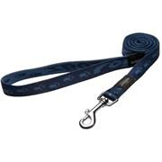 Rogz - Удлиненный поводок, темно-синий (размер L - ширина 2 см, длина 1,8 м) ALPINIST FIXED LONG LEAD