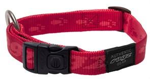 Rogz - Ошейник, красный (размер XL (43-70 см), ширина 2,5 см) ALPINIST SIDE RELEASE COLLAR