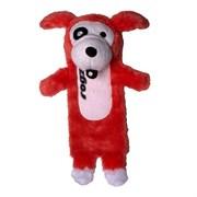 Rogz - Мягкая игрушка с карманом для пластиковой бутылки, средняя (красный) THINZ MEDIUM PLUSH TOY