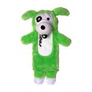 Rogz - Мягкая игрушка с карманом для пластиковой бутылки, средняя (лайм) THINZ MEDIUM PLUSH TOY