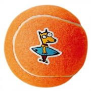 Rogz - Игрушка теннисный мяч, средний (оранжевый) TENNISBALL MEDIUM