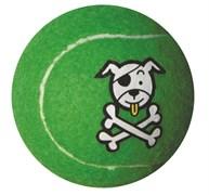 Rogz - Игрушка теннисный мяч, большой (лайм) TENNISBALL LARGE