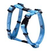 Rogz - Шлейка для щенков, голубой (размер S (28-47 см), ширина 12 мм) H-HARNESS
