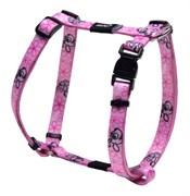 Rogz - Шлейка для щенков, розовый (размер M (40-70 см), ширина 16 мм) H-HARNESS