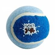 Rogz - Игрушка для щенков теннисный мяч, малый (голубой) TENNISBALL SMALL