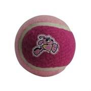 Rogz - Игрушка для щенков теннисный мяч, средний (розовый) TENNISBALL MEDIUM