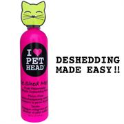 """Pet Head - Кондиционер """"Чудо-Линька"""" для линяющих кошек с кокосовым маслом (арбузный), без сульфатов и парабенов"""