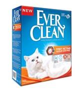 Ever Clean - Комкующийся наполнитель для кошек (мгновенный контроль запахов, оранжевая полоса) Fast Acting