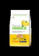 Trainer - Сухой корм для взрослых собак мелких и миниатюрных пород (с курицей и рисом) Trainer Natural Small & Toy
