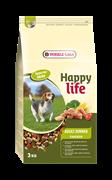"Happy Life (Versele-Laga) - Сухой корм для собак ""Куриный ланч"" Adult Chicken Dinner"