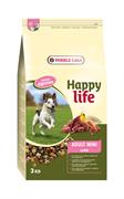 Happy Life (Versele-Laga) - Сухой корм для собак малых пород (с ягненком) Adult Mini Lamb