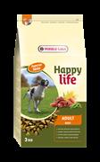 Happy Life (Versele-Laga) - Сухой корм для собак (с говядиной) Adult Beef