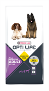Opti Life (Versele-Laga) - Сухой корм для взрослых собак с повышенной активностью (с курицей и рисом) Adult Active All Breeds