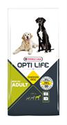 Opti Life (Versele-Laga) - Сухой корм для собак крупных пород (с курицей и рисом) Adult Maxi