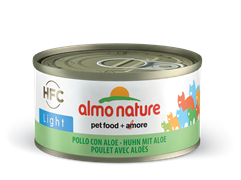 "Almo Nature - Низкокалорийные консервы для кошек ""Курица с алоэ"" HFC Adult Light Cat Chicken with Aloe"