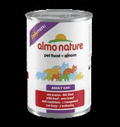 """Almo Nature - Консервы для кошек """"Меню с Говядиной"""" Daily Menu Beef"""