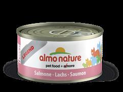 Almo Nature - Консервы для кошек, 75% мяса (с Лососем) Legend Adult Cat Salmon