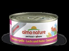 Almo Nature - Консервы для кошек (с Лососем и Курицей) Legend Adult Cat Salmon and Chicken