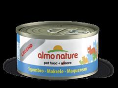 Almo Nature - Консервы для кошек, 75% мяса (с Макрелью) Legend Adult Cat Mackerel