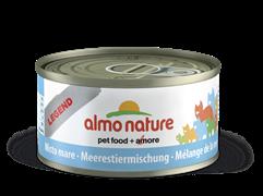 Almo Nature - Консервы для кошек, 75% мяса (с Морепродуктами) Legend Adult Cat Mixed Seafood